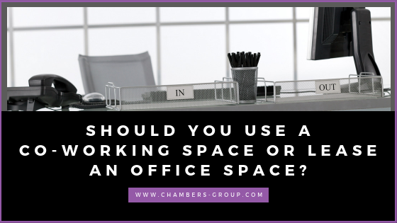 coworking space or office