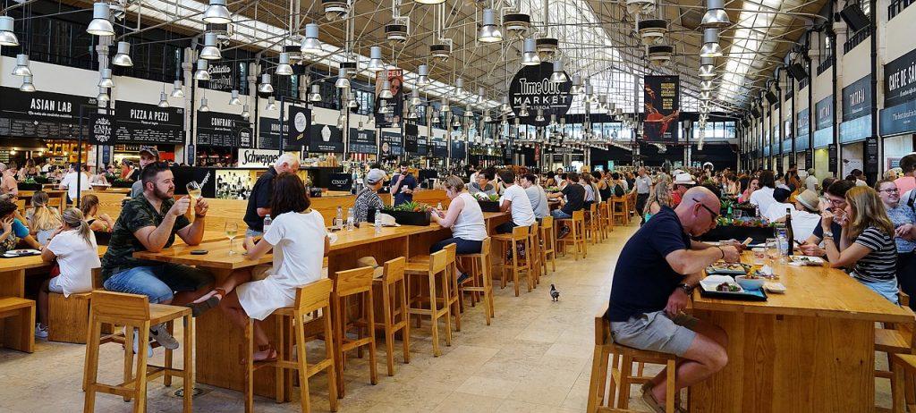 food halls commercial real estate